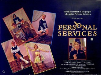 Personal Services - Theatrical release poster