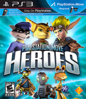 PlayStation Move Heroes - North American Box Art