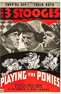 <i>Playing the Ponies</i> 1937 film by Charles Lamont