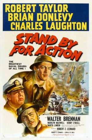 Stand By for Action - Theatrical release poster