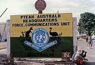 FCU UNTAC - Front Gate – Pteah Australii