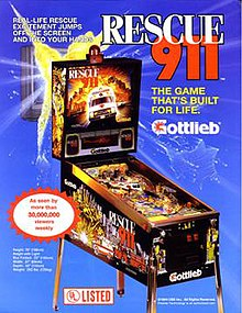 Rescue 911 (pinball) - Wikipedia