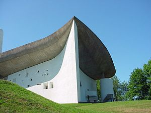The Architectural Work of Le Corbusier - Notre Dame du Haut, one of seventeen works