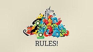 Rules! - Image: Rules! logo