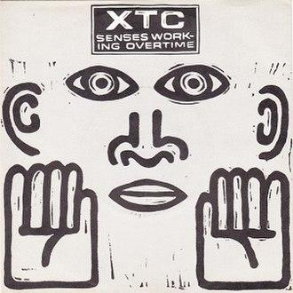 Senses Working Overtime - Image: Senses Working Overtime (XTC single cover art)
