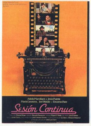 Sesión continua - Theatrical release poster