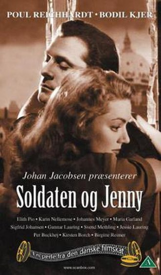 Jenny and the Soldier - DVD Cover for the film Soldaten og Jenny