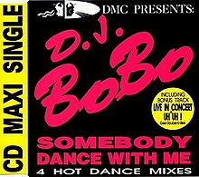 DJ BoBo — Somebody Dance with Me (studio acapella)