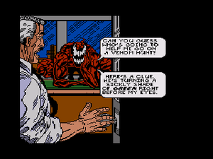 Spider-Man and Venom: Maximum Carnage - Image: Sprmn&Venomcutscene