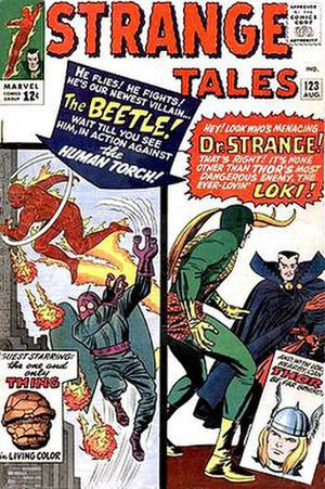 Beetle (comics) - Image: Strange Tales 123