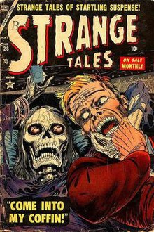 Image result for atlas comics strange tales
