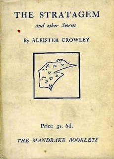 <i>The Stratagem and other Stories</i> book by Aleister Crowley