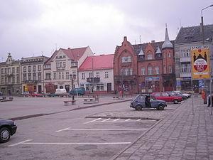 Strzelno - Town square