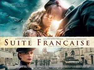 Suite Française (film) - UK release poster
