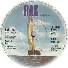 Rolling Stone Suzi Quatro Song Wikipedia