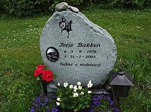 Terje Bakken - Terje Bakken's grave