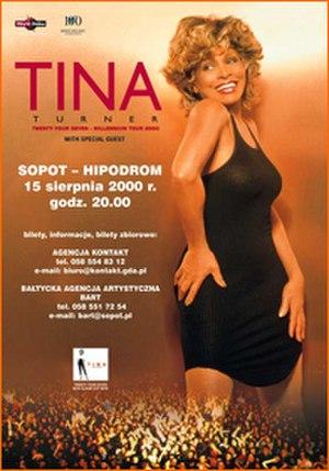 Twenty Four Seven Tour - Image: Tfsttina