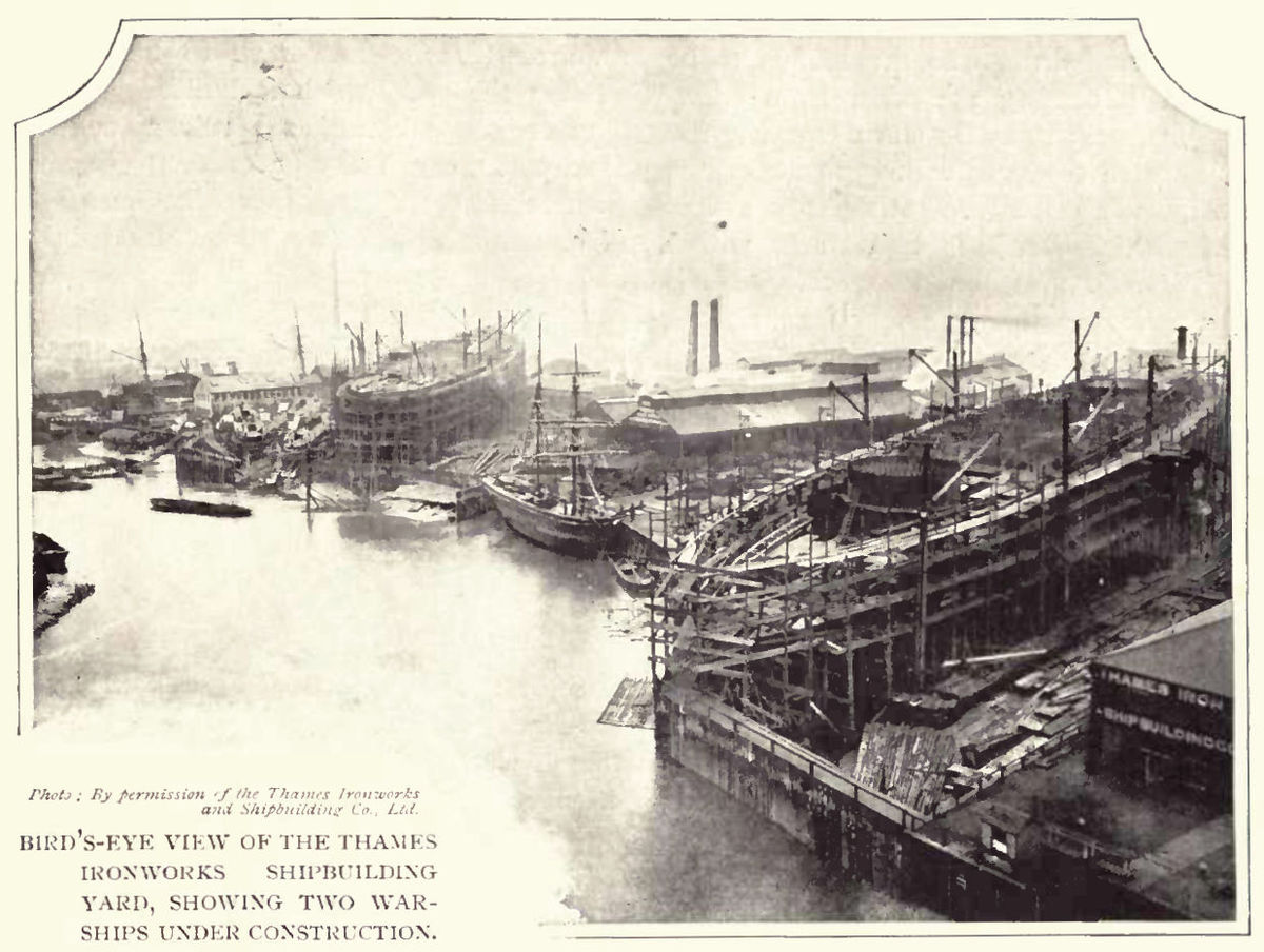 Thames Ironworks And Shipbuilding Company Wikipedia