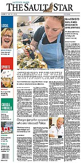 <i>The Sault Star</i> Canadian newspaper