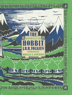 <i>The Annotated Hobbit</i> Douglas A. Andersons annotated version from the novel by J. R. R. Tolkien