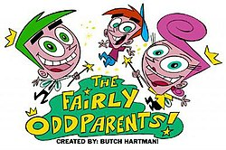 A postcard for The Fairly OddParents segment on Nickelodeon's Oh Yeah! Cartoons
