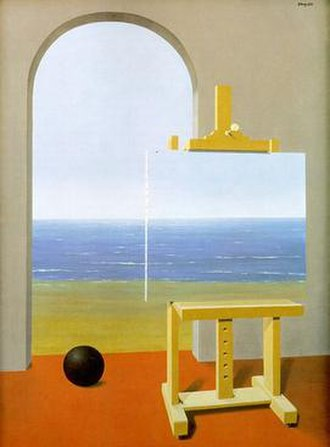 The Human Condition (Magritte) - Image: The Human Condition 1935