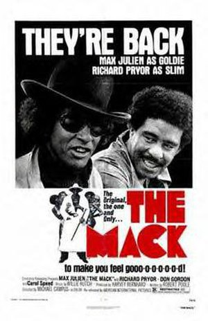 The Mack - 1982 theatrical re-release poster