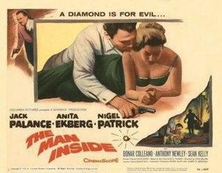 <i>The Man Inside</i> (1958 film) 1958 film by John Gilling
