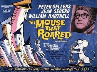 The Mouse That Roared (film) - Original British quad format film poster