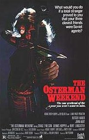 The Osterman Weekend (film) - The theatrical release poster for The Osterman Weekend