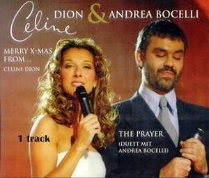 The Prayer (Celine Dion and Andrea Bocelli song) - Image: The Prayer promo