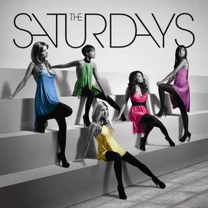 Chasing Lights - Image: The Saturdays Chasing Lights (Album Cover)