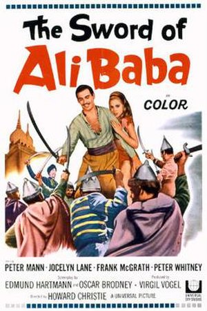 The Sword of Ali Baba - Theatrical release poster