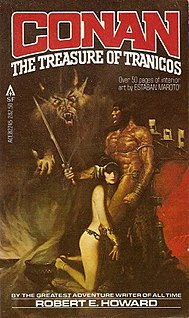 The Black Stranger Conan novella by Robert E. Howard