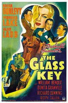 movie poster the glass key