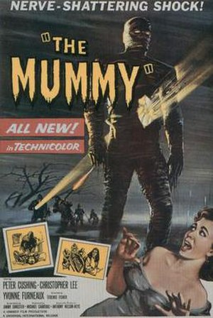 The Mummy (1959 film) - Theatrical release poster
