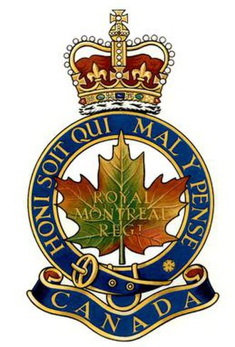 The Royal Montreal Regiment - Image: Theroyalmontrealregi ment
