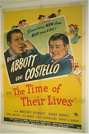 The Time of Their Lives - Theatrical release poster