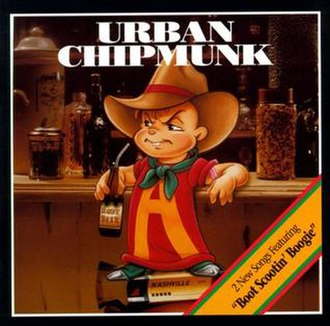 Urban Chipmunk - Image: Urban Chipmunk 1993CDart