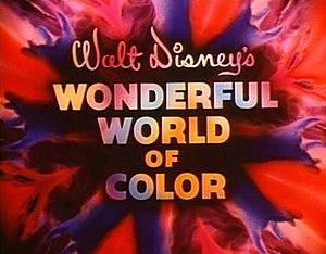 Walt Disney anthology television series - Walt Disney's Wonderful World of Color title sequence
