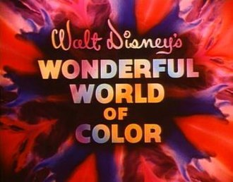 Walt Disney anthology television series - Walt Disney's Wonderful World of Color title sequence