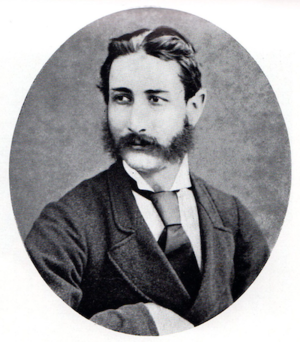 Walter Stanford - Walter Stanford aged 33, in 1883