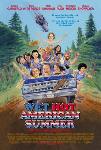 Wet Hot American Summer - Theatrical release poster
