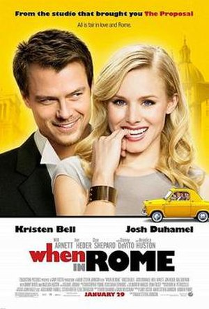 When in Rome (2010 film) - Theatrical release poster