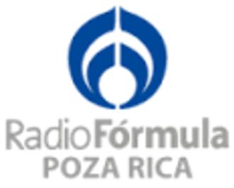 XHXK-FM - Image: XHXK Radio Formula 100.1 logo