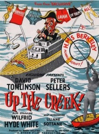 """Up the Creek (1958 film) - Image: """"Up the Creek"""" (1958)"""