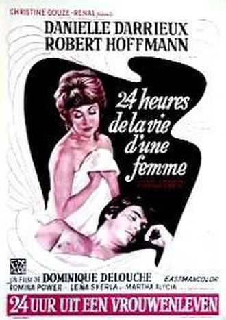 24 Hours in the Life of a Woman (1968 film) - Film poster