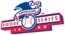 1998 American League Division Series logo.png