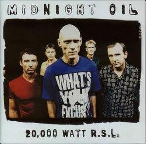 20,000 Watt R.S.L. - Image: 20000 Watt RSL album