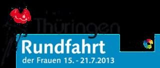 2013 Thüringen Rundfahrt der Frauen